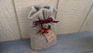 Knitting Machine Knit Goodie Bag