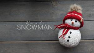 Knitting Machine Snowman Pattern